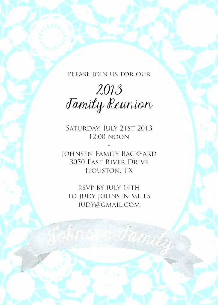 Family Reunion Newsletter Templates Free Awesome Family Reunion Templates Awards Banquet Program Template