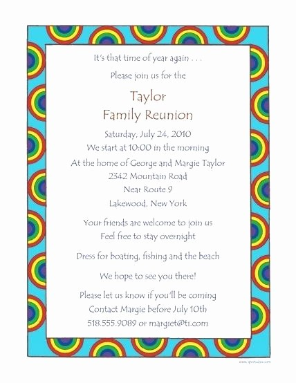 Family Reunion Newsletter Templates Free Beautiful Family Tree Reunion Party Invitations Templates Invitation