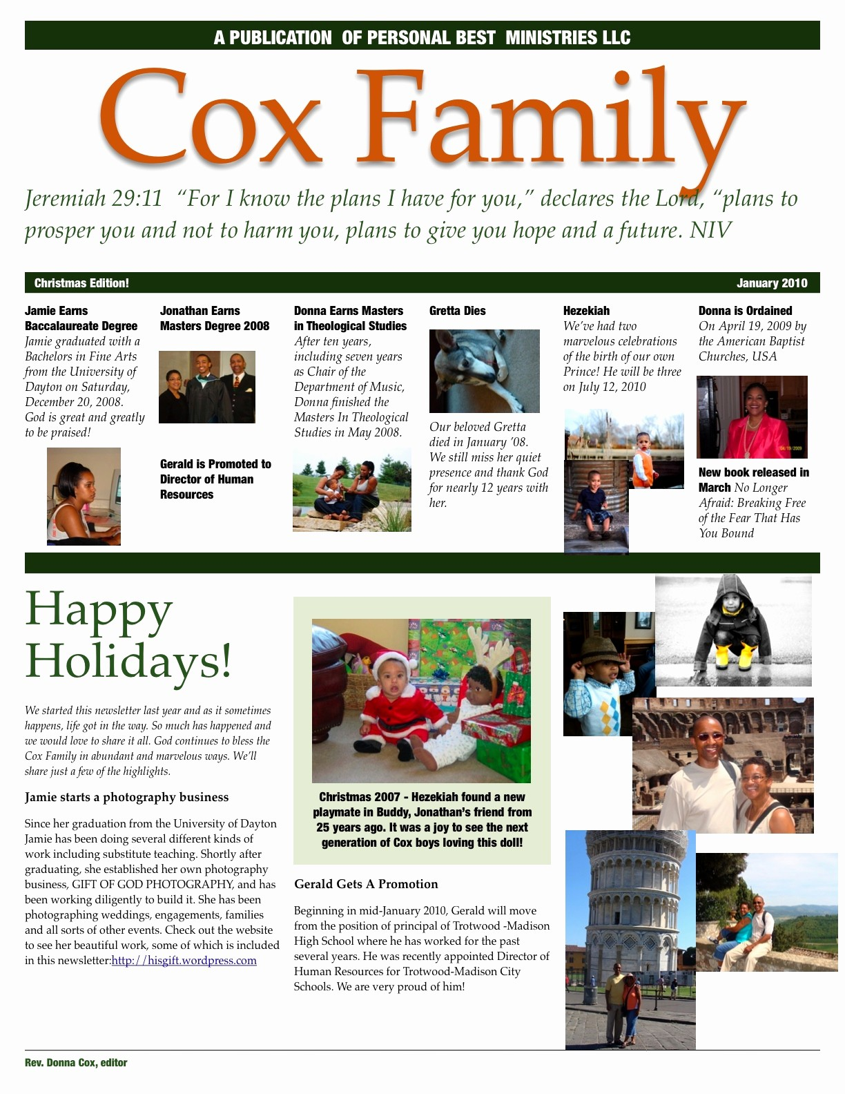 Family Reunion Newsletter Templates Free Best Of Family Newsletter