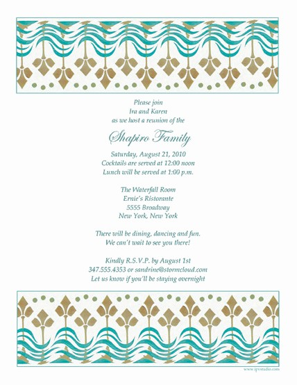 Family Reunion Newsletter Templates Free Elegant Free Family Reunion Letter Template