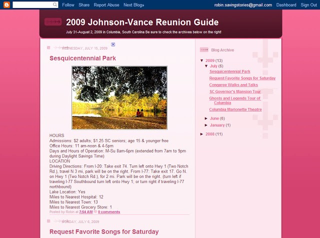 Family Reunion Newsletter Templates Free Fresh Sharing the Legacy Reunion Ideas