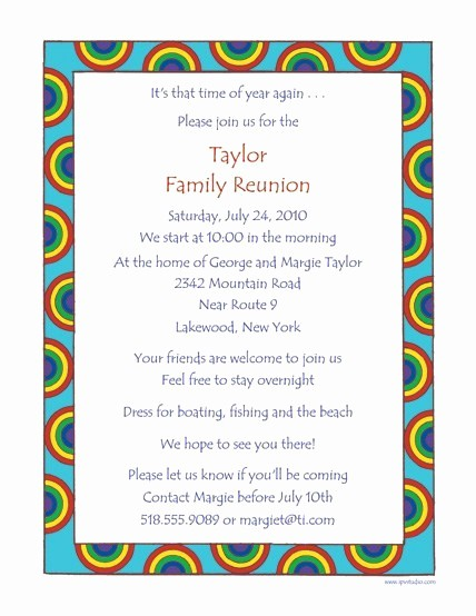 Family Reunion Newsletter Templates Free Unique Family Reunion Letters Template Free Download Aashe