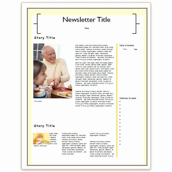 Family Reunion Newsletter Templates Free Unique Family Reunion Newsletter Examples Making A Family