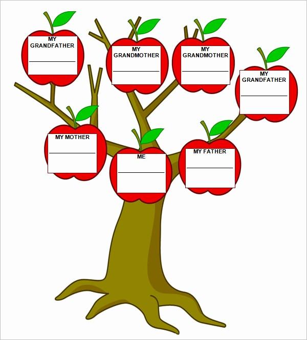 Family Tree Microsoft Word Template Fresh Blank Family Tree Template – 31 Free Word Pdf Documents