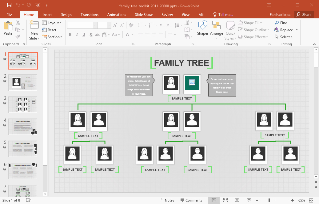 Family Tree Microsoft Word Template Inspirational Family Tree Template for Excel