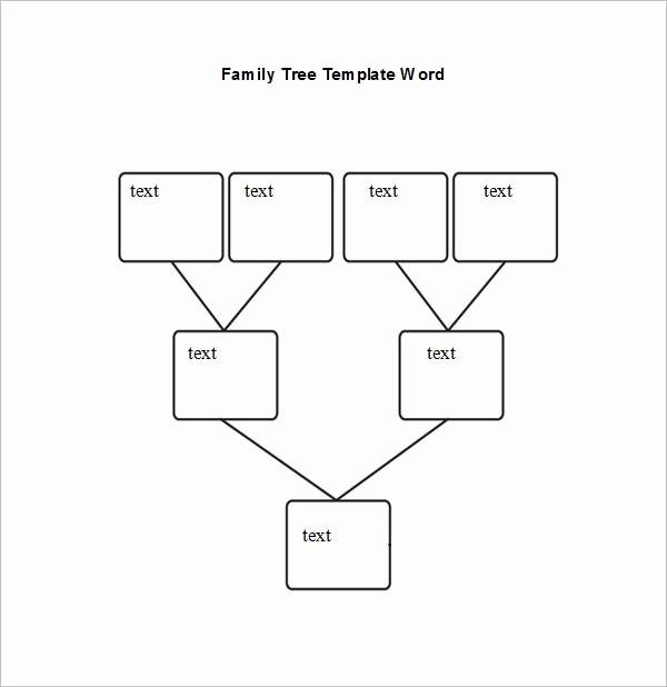 Family Tree Microsoft Word Template Inspirational Family Tree Template Word Beepmunk