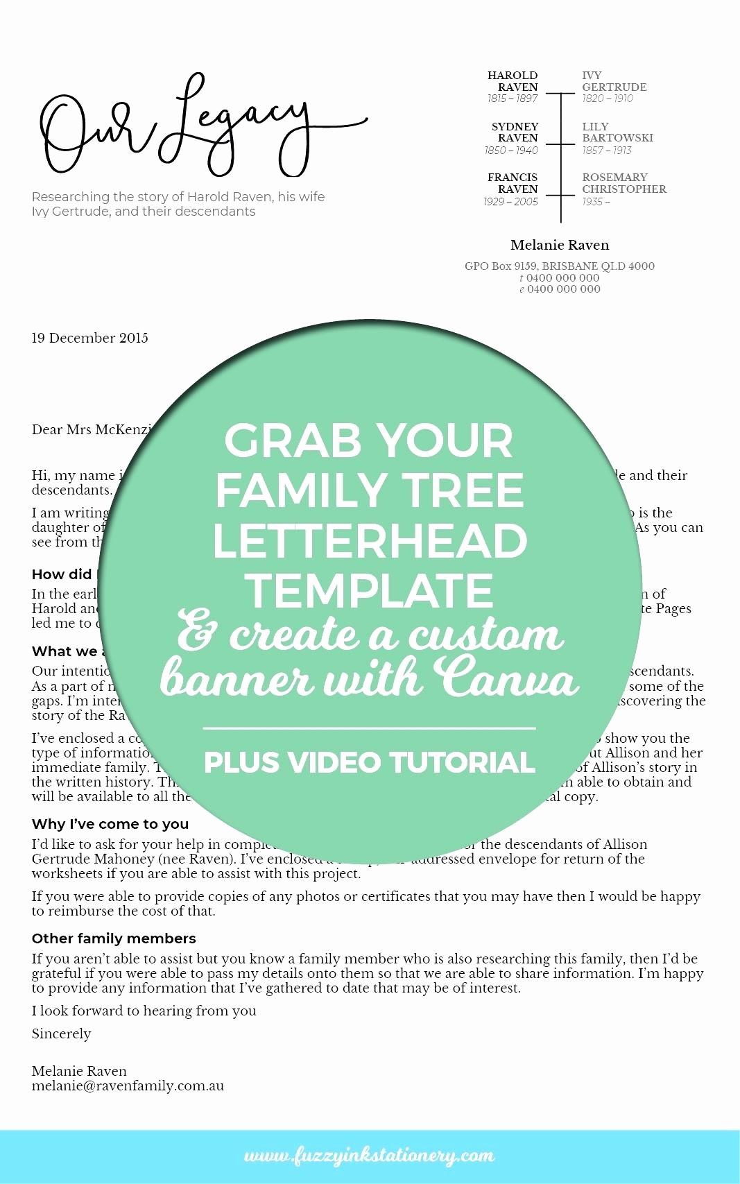 Family Tree Microsoft Word Template Inspirational Template Microsoft Word Family Tree Template