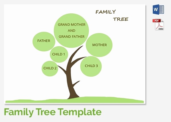 Family Tree Microsoft Word Template Luxury Editable Family Tree Template Beepmunk