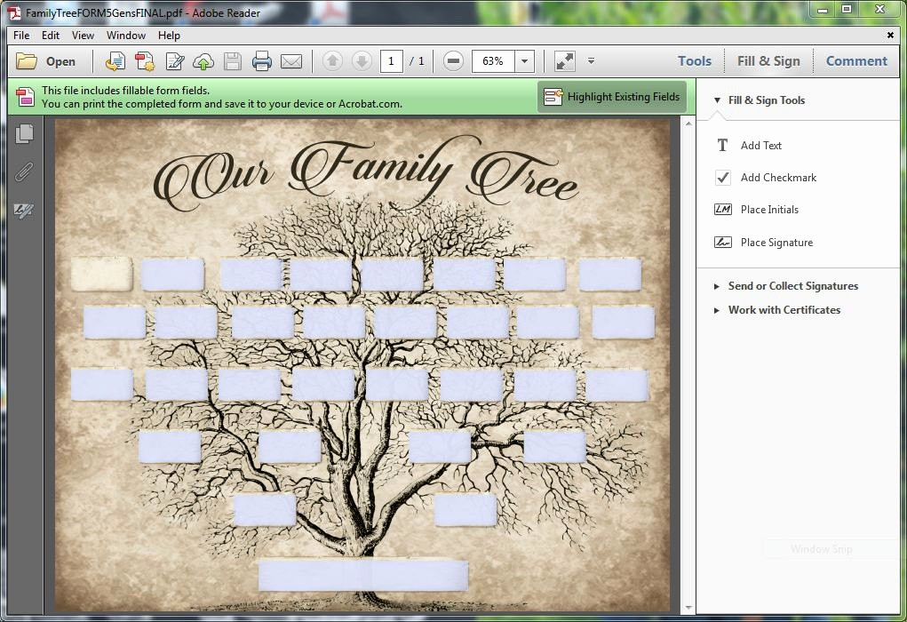 Family Tree Template 5 Generations Best Of Custom Family Tree Printable 5 Generation Template Instant
