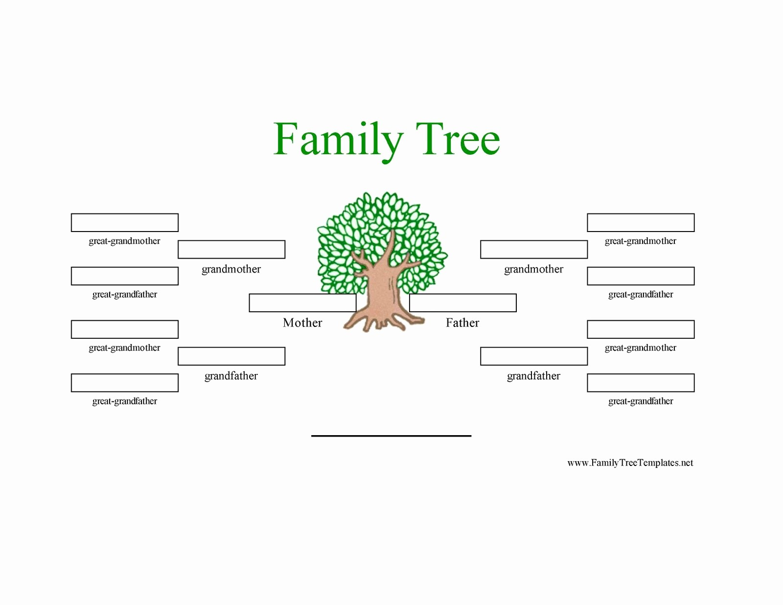 Family Tree Template 5 Generations Luxury 6 Generation Family Tree Template to Pin On
