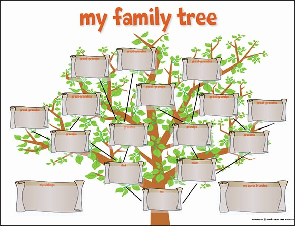 Family Tree Template for Mac Beautiful Family Tree Template 29 Download Free Documents In Pdf