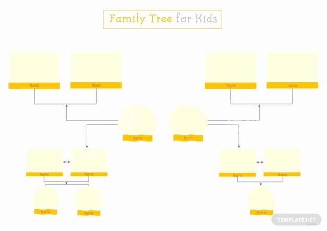 Family Tree Template for Mac Best Of Family Tree Template for Kids In Microsoft Word Apple