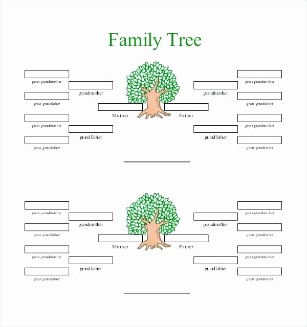 Family Tree Template for Mac Best Of Family Tree Template for Mac Generation Pedigree Chart