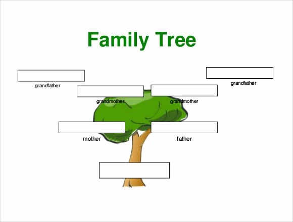 Family Tree Template for Mac Fresh Family Tree Templates for Mac Printable Small Family Tree