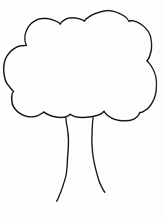 Family Tree Template for Mac New Tree Templates Kids Cuts and Preschool Clipart Best