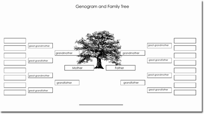 Family Tree Template for Mac Unique 21 Genogram Templates Easily Create Family Charts