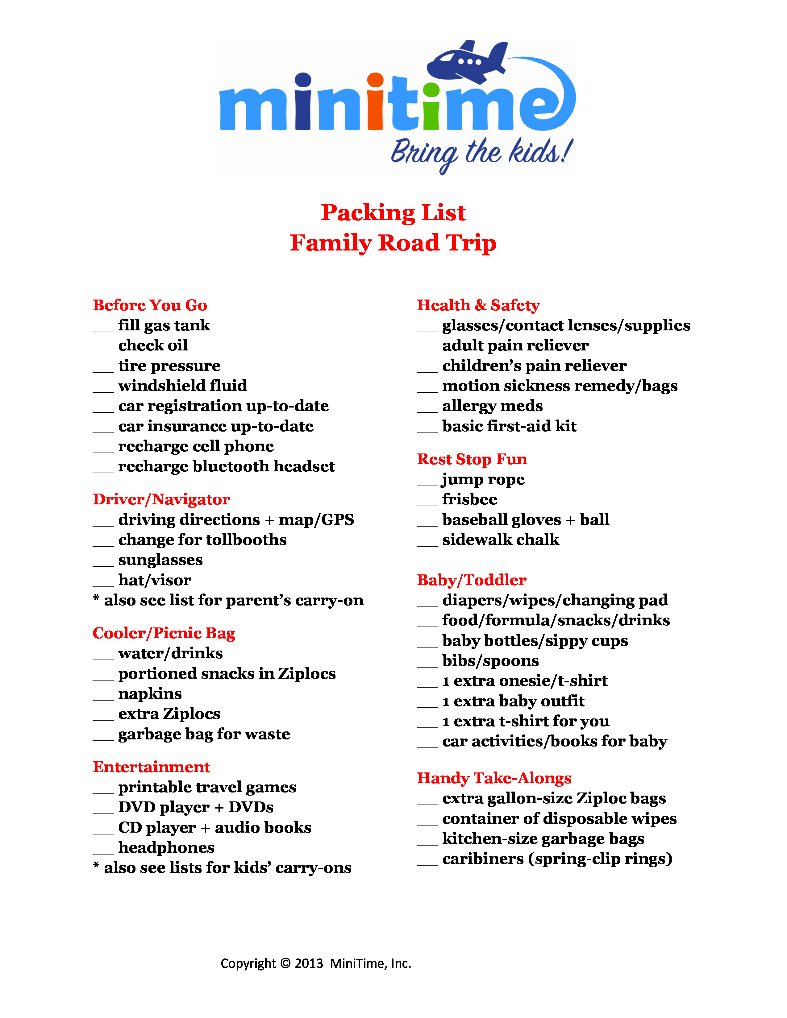 Family Vacation Packing List Template Beautiful 8 Best Of Trip Packing List Printable Printable