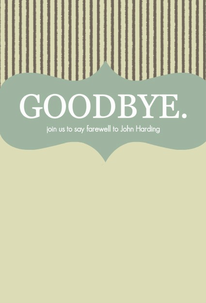 Farewell Party Flyer Template Free Awesome 8 Best Of Printable Goodbye Card Template Free