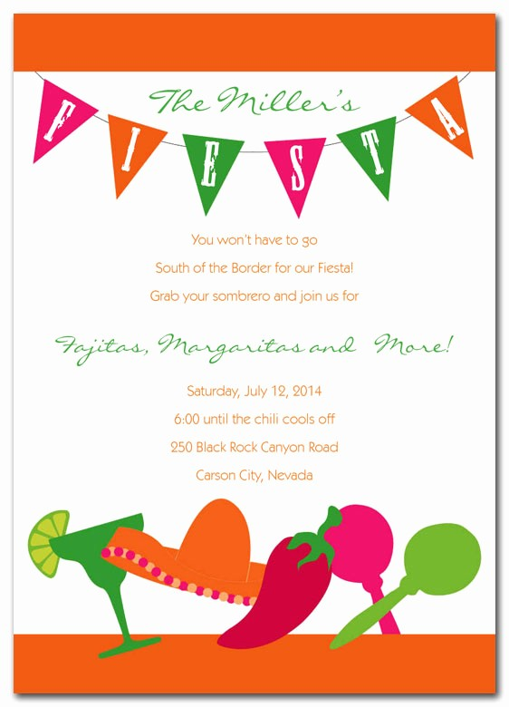Farewell Party Flyer Template Free Awesome Fiesta Invitations by Invitationconsultants