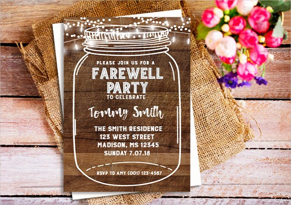 Farewell Party Flyer Template Free Fresh 52 Party Invitation Designs & Examples Psd Ai Eps Vector