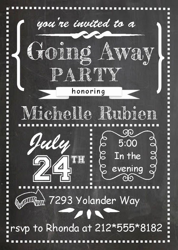 Farewell Party Flyer Template Free Fresh Farewell Party Invitation Template 29 Free Psd format