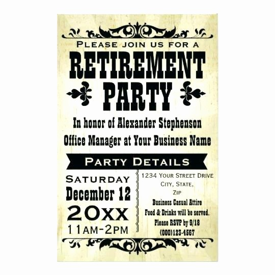 Farewell Party Flyer Template Free Fresh Trend Farewell Party Flyer Template Free Retirement