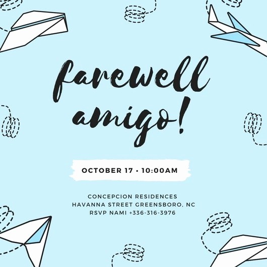 Farewell Party Flyer Template Free Inspirational Invitation for A Farewell Party Cobypic
