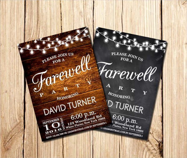 Farewell Party Flyer Template Free Lovely 42 Sample Invitation Flyers Psd Eps Ai