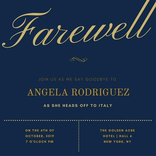 Farewell Party Flyer Template Free Unique Customize 3 999 Farewell Party Invitation Templates