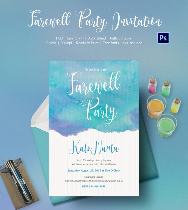 Farewell Party Flyer Template Free Unique Farewell Flyer Template Yourweek Eca25e