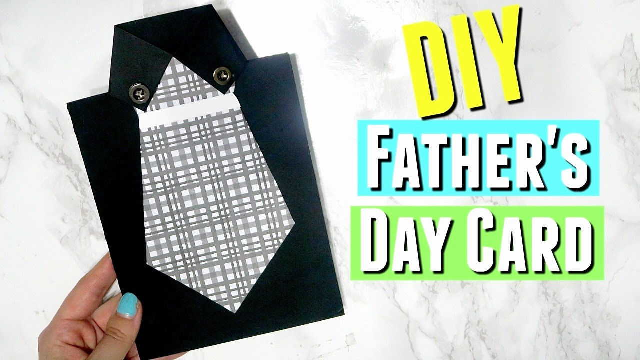 Fathers Day Card From Daughters Beautiful Diy Easy Father S Day Shirt with Tie Card Diy Handmade
