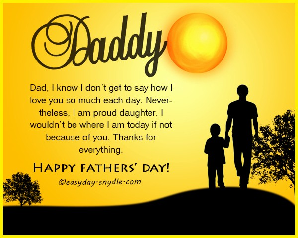Fathers Day Card From Daughters Lovely Fathers Day Messages Wishes and Fathers Day Quotes for