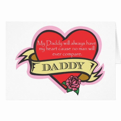 Fathers Day Card From Daughters Luxury Tattoo Heart Father S Day Card Daughter