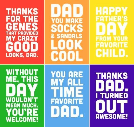 Fathers Day Card From Daughters Unique Dad Birthday Quotes From Daughter Funny Image Quotes at