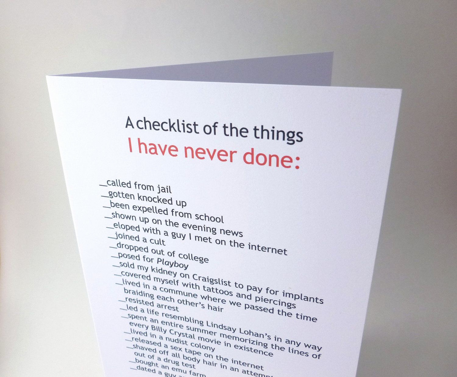 """Fathers Day Card From Daughters Unique Funny Father S Day Card """"the Perfect Present"""" From"""