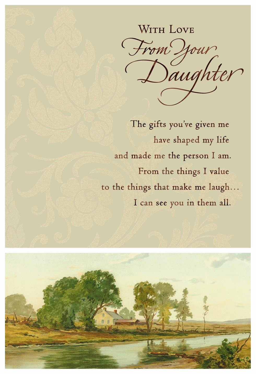 Fathers Day Card From Daughters Unique Vintage Farm Father S Day Card From Daughter