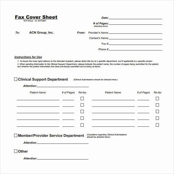 Fax Cover Sheet Download Free Best Of 14 Sample Generic Fax Cover Sheets