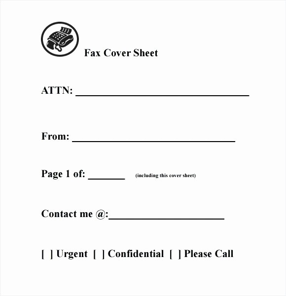 Fax Cover Sheet For Mac Awesome Pages Template