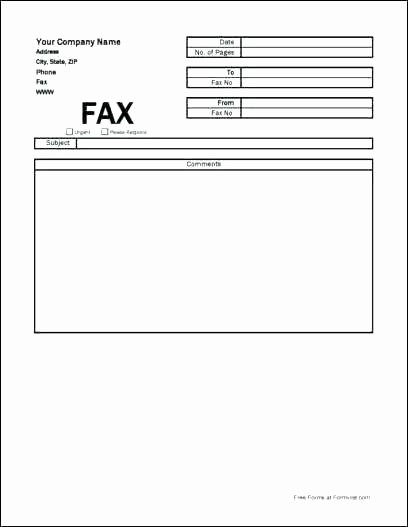 Fax Cover Sheet Microsoft Office Unique Microsoft Fice Fax Cover Template Best solutions Ms