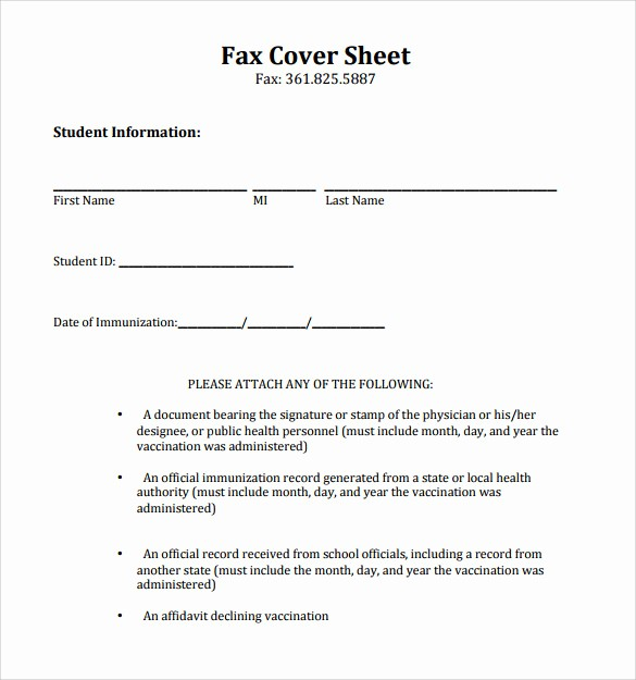 Fax Cover Sheet Pdf format New 18 Printable Fax Cover Sheet Templates to Download