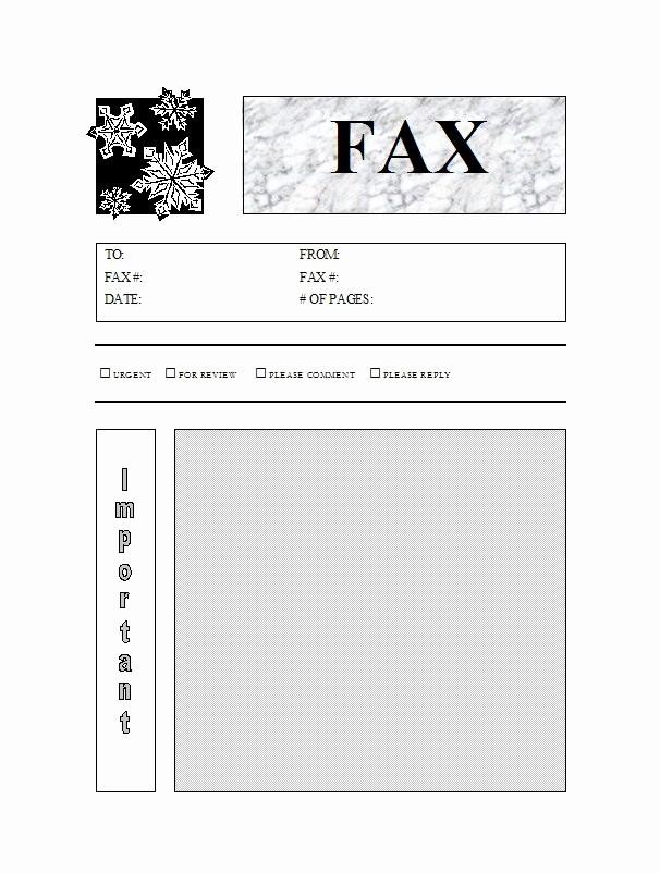 Fax Cover Sheet Printable Free New 40 Printable Fax Cover Sheet Templates Template Lab