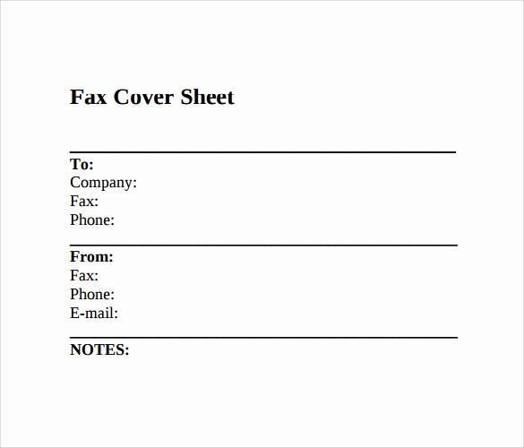 Fax Cover Sheet Sample Pdf Beautiful Printable Fax Cover Sheet 10 Free Samples Examples