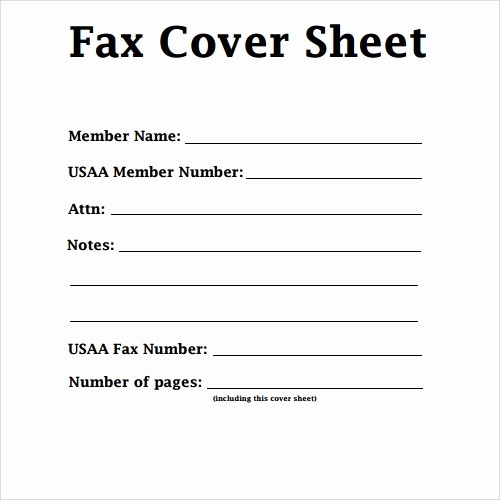 Fax Cover Sheet Sample Pdf Best Of 28 Fax Cover Sheet Templates