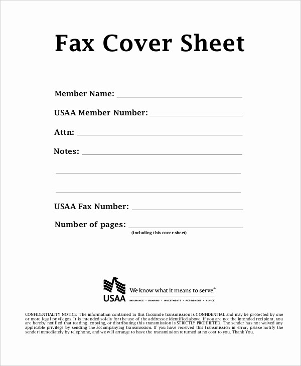 Fax Cover Sheet Sample Pdf Inspirational Fax Cover Sheet Template 15 Free Word Pdf Documents