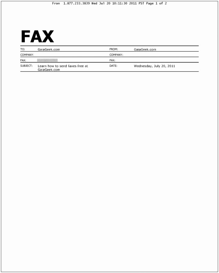 Fax Cover Sheet Sample Template Inspirational Fax Cover Letter Sample