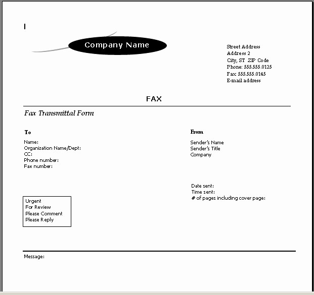 Fax Cover Sheet Template Microsoft Beautiful Blog Archives Erogonthinking