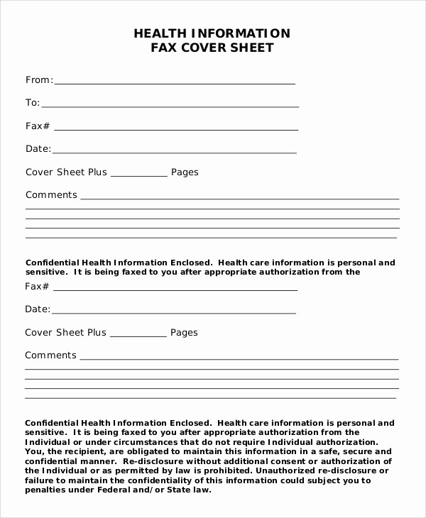 Fax Cover Sheet with Logo Beautiful 8 Generic Fax Cover Sheet Samples