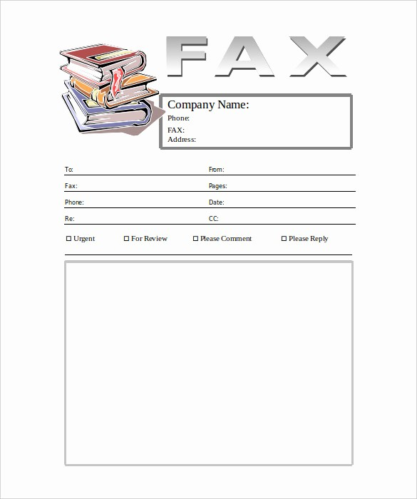 Fax Cover Sheet with Logo Best Of 6 Generic Fax Cover Sheet Templates Free Sample