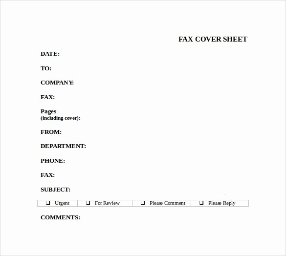 Fax Cover Sheet Word Document Elegant 8 Sample Fax Cover Sheet for Resumes