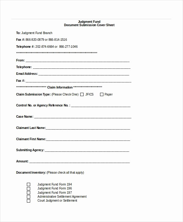 Fax Cover Sheet Word Document New Fax Cover Sheet Template 15 Free Word Pdf Documents
